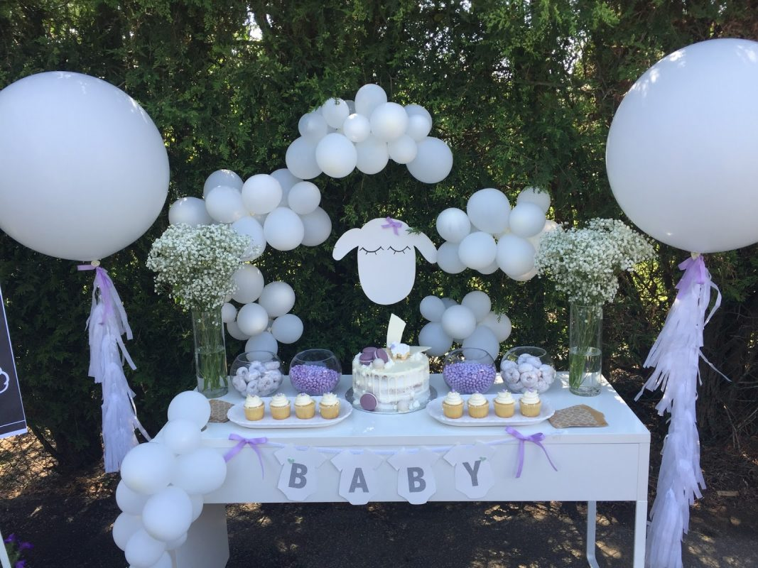 Lamb Theme Baby Shower