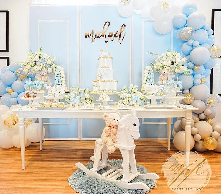 Bear Theme Baby Shower