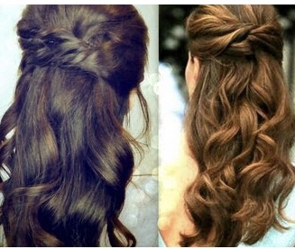 Kate Middleton Inspired Party Hairstyle