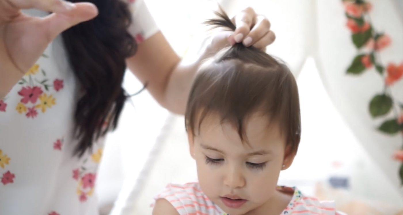 Hairstyles For kids 1st birthday party