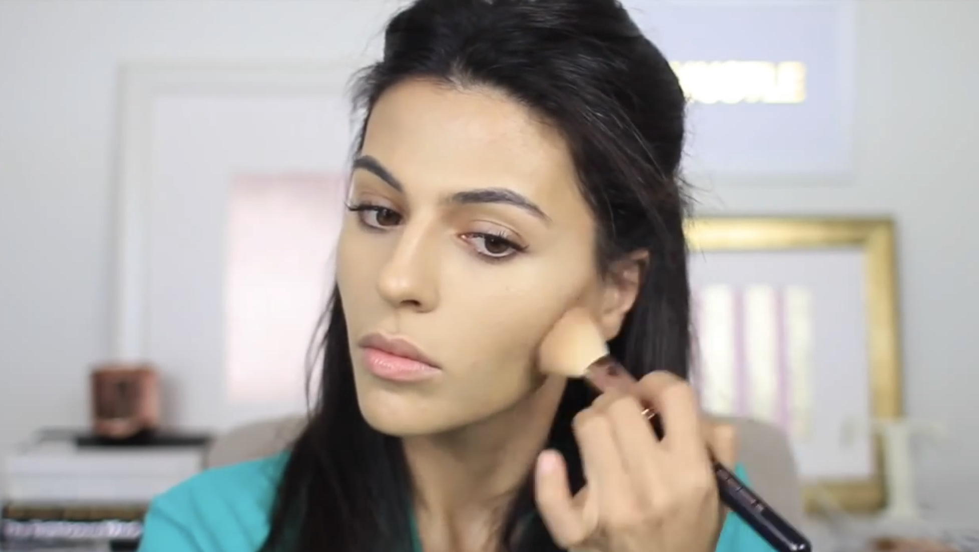 how to apply makeup for a baby shower